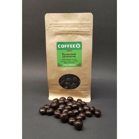Étcsokoládés Kávészemek Egyedi csomagolásban
